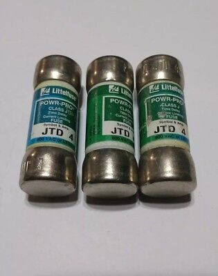Littelfuse  POWR-PRO JTD 4 Amp Class J Time Delay Current Limiting Fuse