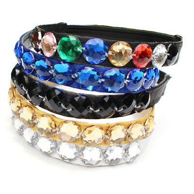 Colored Shoe Strap Elastic Crystal Band For Loose High Heel Shoes Holding Decor