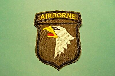 Military 101st Airborne Division Patch Full Color Insignia Unit US Army #730