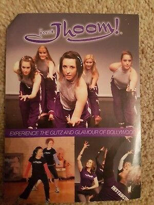 Just Jjoom! Bollywood dance Workout Class instructor loyalty cards x 100