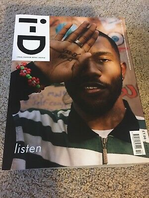 I-D Magazine Frank Ocean Winter 2017 Brand New