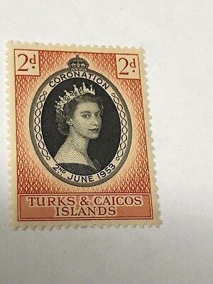 Turks and caicos    1953 Coronation   MH   Lot 3690