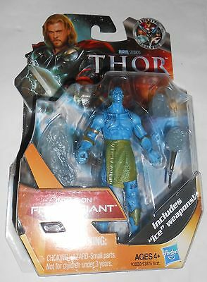 "Marvel Thor the Mighty Avenger 4 1//2 /""Action Figure No.06 Invasion Frost Giant"