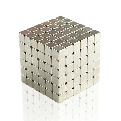 100pcs N35 Neodymium Super Strong Magnets 3mm Cube Rare Earth Disc