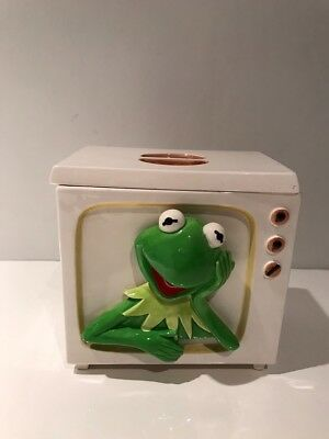 Vintage Kermit The Frog TV Children Character Sigma The Tastesetter Cookie Jar