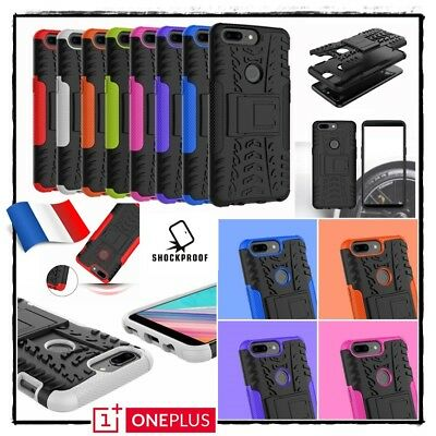 Etui Coque housse Antichocs Shockproof Combo Hard PC Case cover OnePlus 5T