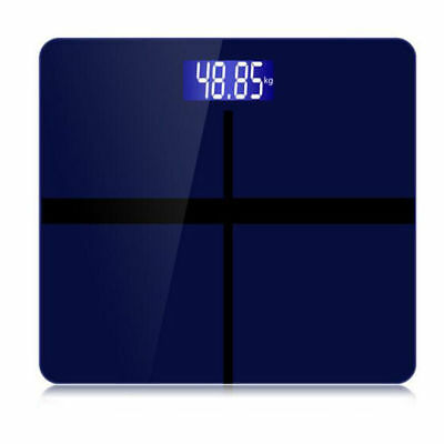 Digital LCD Glass Bathroom Body Scale Weight Watchers High Precision 400lb/180kg