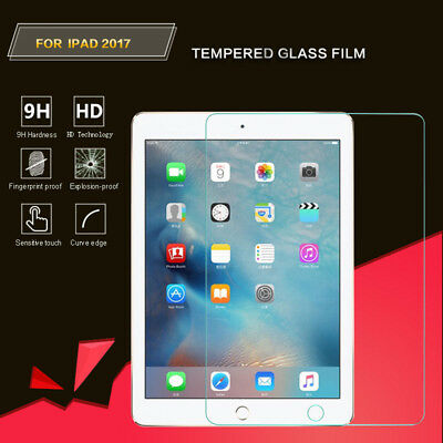 For New 2017 iPad 9.7 Inch Guard Premium 9H Tempered Glass Film Screen Protector