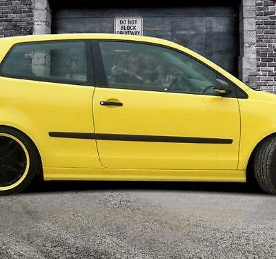 """Side skirts for VW POLO 4  9N / 9N3  2001-2009  ABS Plastic  """" Street-X look """""""