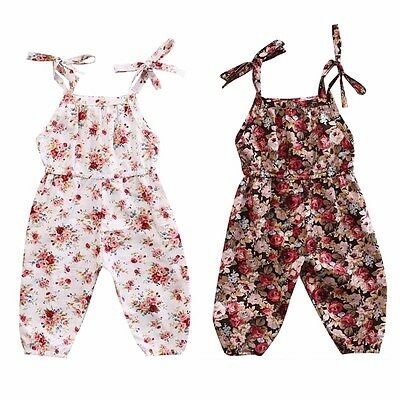 Newborn Baby Kids Girl Infant Romper Jumpsuit Bodysuit Cotton Clothes Outfit Set