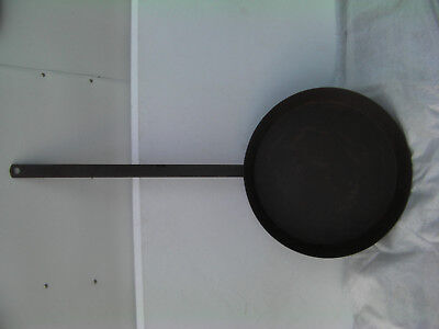 Unique Very Large Trail Drive Cast Iron Skillet for Decor