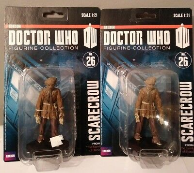 "BBC Doctor Who Dr Scarecrow 1:21 Scale Figure lot 4"" new 2012 #26 figurine zygon"