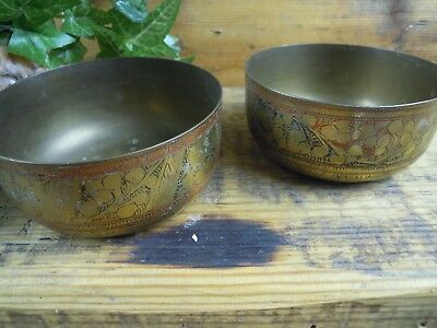Altar bowl Offering bowl spell supplies spells Witchcraft Pagan Wiccan pair of