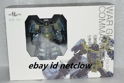 Transformers IronFactory IF EX-24 War Giant Commander Onslaught in Stock