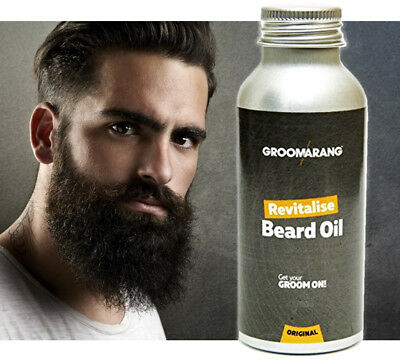 Revitalise Beard Oil Moisturiser & Conditioner For Soft Bearded Bearded Hair UK
