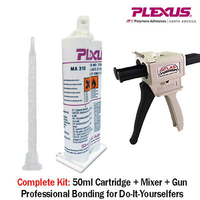 Plexus MA310 All Purpose High Strength MMA Adhesive (31500) 50ml+Dispenser