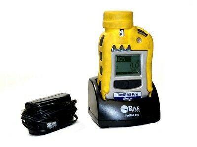 RAE ToxiRAE Pro HCN PGM-1860 Portable Handheld Single Gas Detector with Charger
