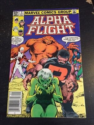 Alpha Flight#2 Incredible Condition 9.0(1983) Byrne Art!!