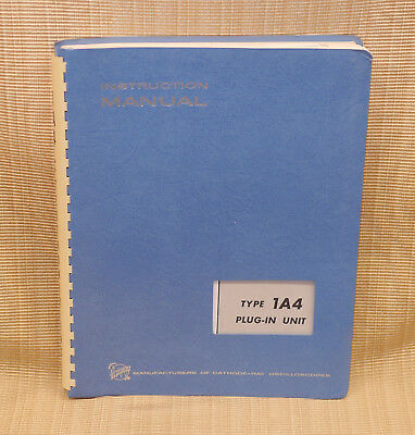 Tektronix Type 1A4 Plug-In Unit Factory Instruction Manual