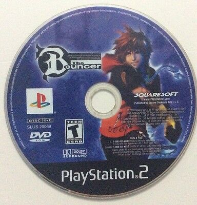 The Bouncer - (Sony Playstation 2, PS2) - GAME DISC ONLY / NO CASE