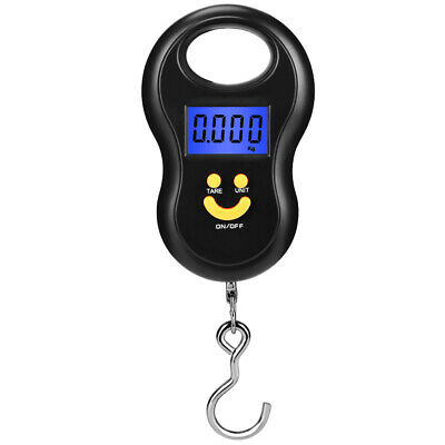 50kg/10g Mini Portable Digital Luggage/Fishing Hook Hanging Electronic Scale LCD