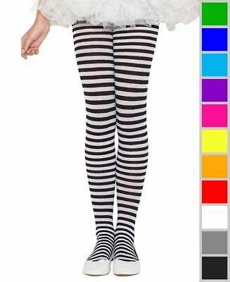 New Music Legs 270 Girls Striped Tights Pantyhose