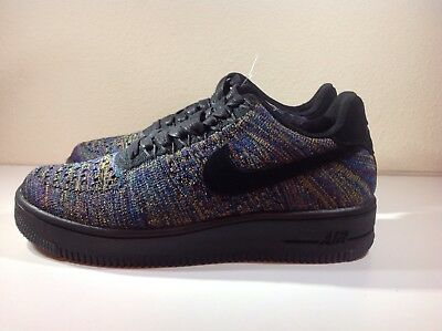 NEW NIKE WOMENS Air Force 1 AF1 Flyknit Low Shoes [820256 103] Sz 7 RARE Sample