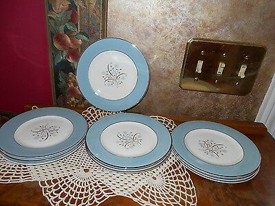 Syracuse Vintage Set of Meadow Breeze Bread and Butter Plates Dessert Plates NOS