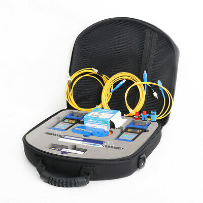 FTTH Loss Test Tool Kit Fiber Optic Power Meter Optical Light Source VFL OPM OLS