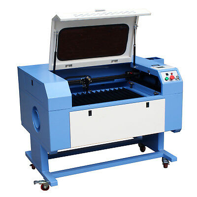 RECI 100W CO2 Laser Engraving & Cutting Machine with Red Dot Pointer, USB Port