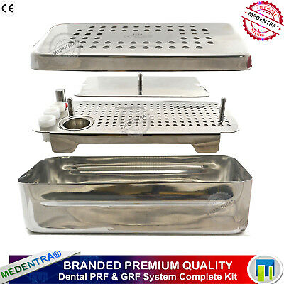 COMPLETE Dental PRF / GRF System Box Platelet Rich Fibrin Surgery Cassette Tray
