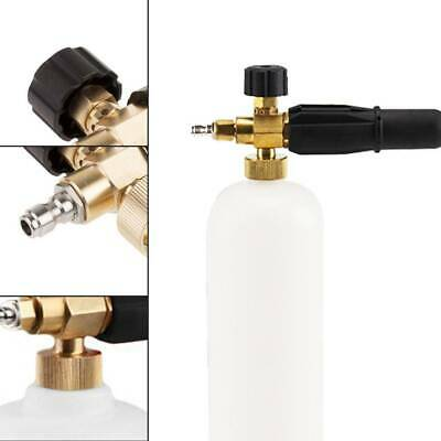 1L Car Pressure Washer Snow Foam Lance Cannon With 1/4' Quick Connect Adapter UK