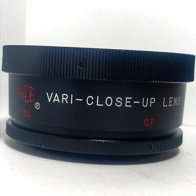 HCE Vari-Close-Up Lens by Tiffen Optical Series 7 VII Threads Variable Diopter