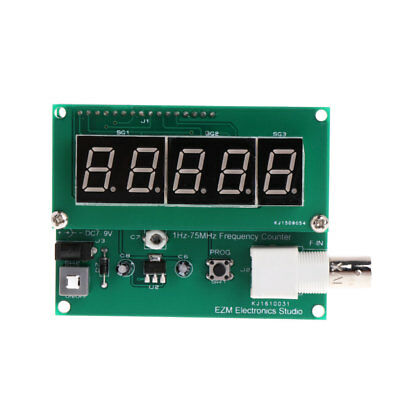 1Hz-75MHz 7V-9V 50mA Frequency Counter Cymometer Module Tester Meter Measurement