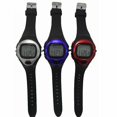 Pulse Heart Rate Monitor Calories Counter Fitness Watch Time Stop Watch Alarm SL