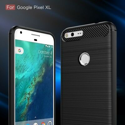 Carbon Fiber Hybrid Shockproof Heavy Duty Case Cover For Google Pixel | Pixel XL