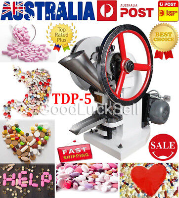 TDP5 Tablet Press Pill Making Machine Automatic Single Punch Electric Maker 220V