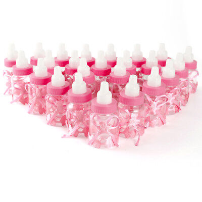 Bottle Favor Box Baby Shower Candy Sweet Box 24CS Pink