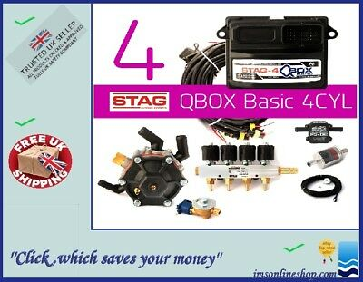 4 Cylinder Lpg Cng Conversion Kit Ac Stag Qbox Basic