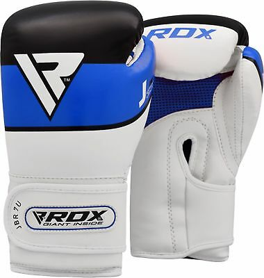RDX Boxing Gloves Blue 6 OZ Kids