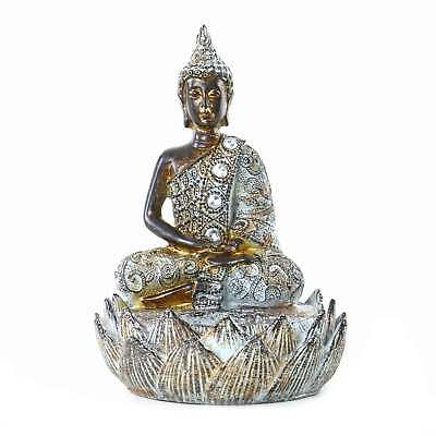 buddha deko figur ethno esotherik statue zen gl cksbringer. Black Bedroom Furniture Sets. Home Design Ideas