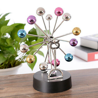 Magnetic Ferris Wheel Balance Balls Motion Desk Physics Science Pendulum Toy
