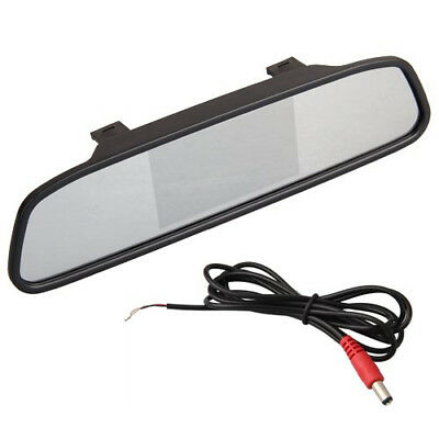 "4.3 ""TFT LCD Display Monitor rearview mirror rearview mirror AUTOR DVD AV I4A2"