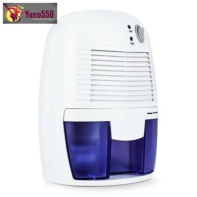 Mini Dehumidifier for Home Portable 500ML Moisture Absorbing Air Dryer