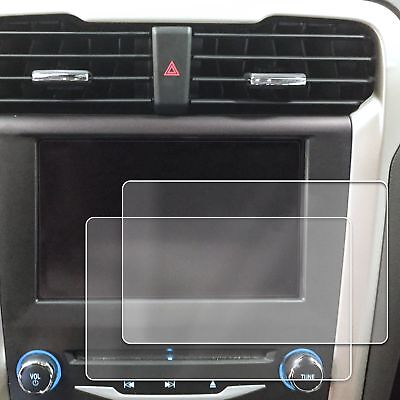 2) 2013-2018 Ford Fusion 2pc Anti Scratch Touch Screen Savers Protector Clear