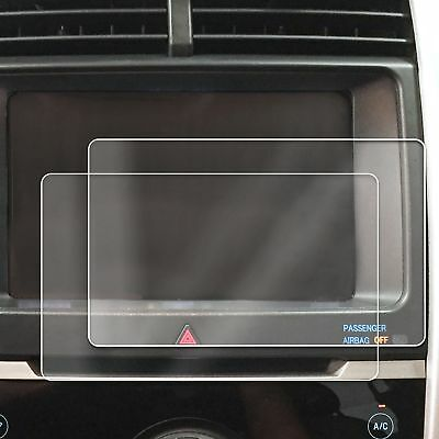 2) 2012-2018 Ford Edge 2pc Anti Scratch Fingerprint Screen Saver Protector Clear