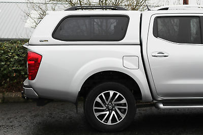 Nissan Navara Np300 Double Cab 2015 On Ridgeback S-Series Hardtop White - Qm1
