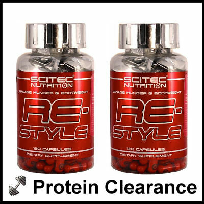 Scitec Restyle Thermo Fat Burner Weight Loss  2 x 120 Capsules BBE 12/2016