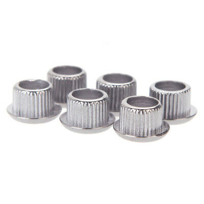 Guitar Tuner Conversion Bushings Adapter Ferrules Nickel Plating for 10mm E2D8