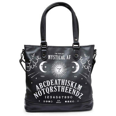 Ouija Board The End Not Gothique Tote Bag Gothic Witch Sac Killstar thrdsQBCx